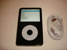 APPLE  IPOD  VIDEO  5.5  GEN.  CUStOM THIN  BLACK  128GB. SSD DRIVE...