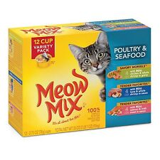 Meow Mix Tender Favorites Wet Cat Food Variety Pack Meow Mix