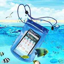 Waterproof Pouch Bag Cover Case For Gadgets Mobile Phone - Orange