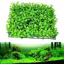 25cm Artificial Aquatic Green Grass Plant Turf Lawn Aquarium Fish Tank Decor