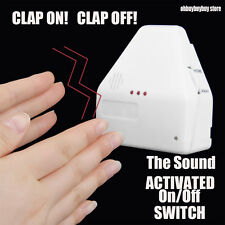 The Clapper Sound Activated Switch On / Off Clap Electronic Gadget Hand  US OH