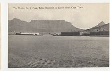 South Africa, The Docks, Table Mountain & Lions Head, Cape Town Postcard, B030