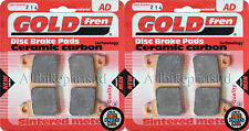 GOLDFREN FRONT BRAKE PADS (2x Sets) for: HONDA ' CBR600 RR ' AD214 FA390HH