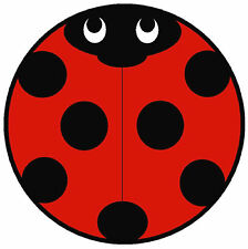 CAR TAX DISC HOLDER - LADYBIRD - BRAND NEW - L@@@@@@@K