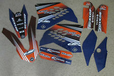 FLU DESIGNS PTS2 TEAM KTM GRAPHICS SX65 65SX 2009 2010 2011 2012 2013 2014 2015
