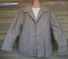 Timberland Weathergear Light Khaki Stone Cotton Field Jacket - XL - c2004