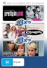 Pretty In Pink  / Clueless  / Some Kind Of Wonderful (DVD, 2007, 3-Disc Set)