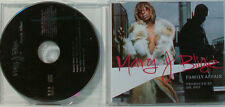 MARY J.BLIGE - FAMILY AFFAIR produced by DR.DRE   -   MAXI CD (O200)