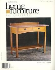 HOME FURNITURE: Fine Woodworking: Taunton: Issues 1-14