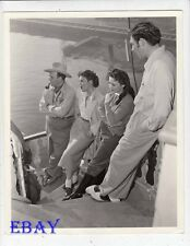 Director George Sidney Showboat Ava Gardner VINTAGE Photo Kathryn Grayson
