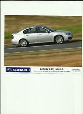 "SUBARU LEGACY 3.0 R SPEC. B. ORIGINAL PRESS PHOTO "" Brochure """