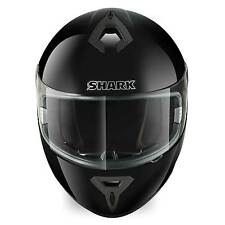 Shark S600 Motorcycle Helmet Prime Plain Black Size Extra Large XL