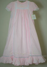 NWT Remember Nguyen Baby Sen Ivory Lace Vintage Christen Gown Dress Preemie Girl