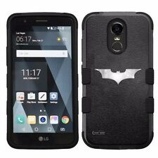For LG Stylo 3 LS777 Hard Impact Armor Hybrid Case Batman #L
