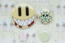 DRAMAtical Murder DMMD Cosplay NOIZ CUTE Smile Face 4PCS Pins Set Brooch Badge