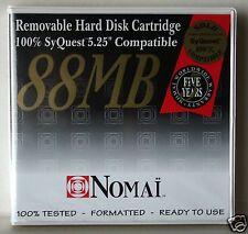 """DISCO MAGNETICO CARTUCCIA 88 MB, 5,25"""" NOMAI COMPATIB. AL 100% CON SYQUEST SQ800"""
