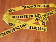 POLICE LINE DO NOT CROSS TAPE 3 INCH 100 FEET CRIME SCENE CSI FBI POLICE TAPE