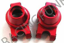 Alloy Rear Knuckle Arm Hop up Part Fits Tamiya TT01 TT-01 RC Car Upgrade RED UK
