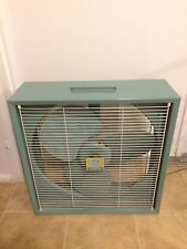 Vintage GE General Electric Box Fan F15W12 Industrial High Speed Made In  USA