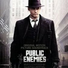 PUBLIC ENEMIES SOUNDTRACK CD ELLIOT GOLDENTHAL NEU
