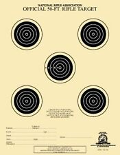 TQ-1/5 NRA Official 50 Foot Rifle Target, w/5 bulls ( 100 pack ) [ aka A-2 ]