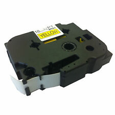 Brother Compatible TZ-641 P-Touch 18mm Black/Yellow Tape Cartridge