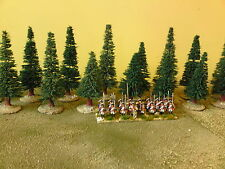 12 x 25mm/28mm Pine Trees suitable for ACW,ECW,Bolt Action WW2,Saga