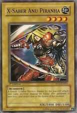 5DS2-EN004 X-Saber Anu Piranha 1st Edition Yugioh Card