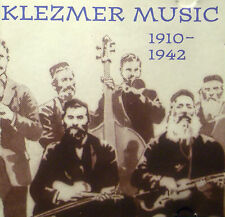 CD KLEZMER MUSIC - 1910-1942