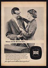 3w522/ Alte Reklame - von 1958 - Mode - ORIGINAL ENGLISCH