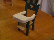 Fisher Price Loving Family green highchair
