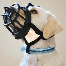 Baskerville Ultra Dog Muzzle size 6, Black, Muzzle For Mastiff, German Shepherd