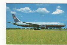 United Airlines Boeing 777-222 Aviation Postcard, A654