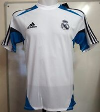 REAL MADRID 2012/13 WHITE TRAINING SHIRT BY ADIDAS SIZE 48/50 INCH CHEST BNWT
