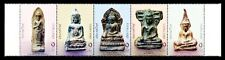 THAILAND 2004-Statues of Buddha-Phra Khrueang Benchaphkhi, Strip of 5, MNH