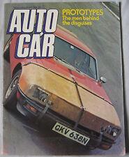 Autocar magazine 15/5/1976 featuring Colt Celeste 2000, Opel City, Porsche 911