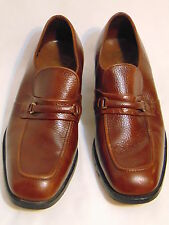 WORTHMORE by Florsheim Vtg 50's/60's Loafer/Oxford Shoes Size 9 E Brown Leather