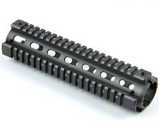 "9"" Quad Rail Handguard inch Mid Length 2 Piece Drop-In for Triangle Cap"
