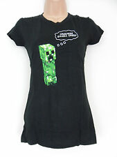 Official Minecraft Creepers gonna creep Women's black T-Shirt Small