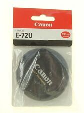 Canon E 72U lens Cap is for use with Canon USM lenses Made By Canon E-72U
