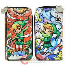 Nintendo The Legend of Zelda Large Zip Around Wallet Phone Case Pouch Bag