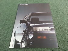 April 1988 TOYOTA NEW CARINA - GERMAN 24 PAGE BROCHURE + SPECIFICATION