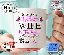 Personalised Wife Gift Mug Birthday Gift Anniversary Gift Present Idea cup