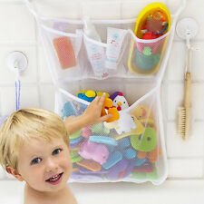 Fashion Baby Bath Bathtub Toy Mesh Net Storage Bag Organizer Holder Bathroom RS
