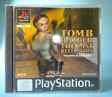 TOMB RAIDER THE LAST REVELATION  PS1 PLAYSTATION PSX PS  PAL