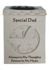 Special Dad Butterfly Rosebowl Graveside Memorial Cemetery Flower Pot GraveVase