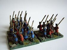 24 x 15mm Ancient  Chin Han spearmen by Museum for DBMM FOG