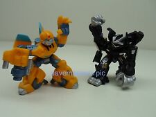 Transformers Movie 2007 Robot Heroes Action Figures BUMBLEBEE BARRICADE