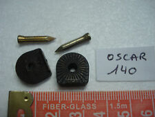 paire de talons en fer oscar 140 ,14 mm par 14 mm, fer à chaussure