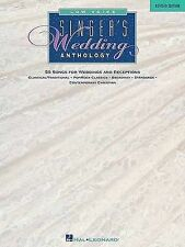 Singer's Wedding Anthology Edition: Low Voice - 59 Songs by Hal Leonard...